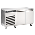 2 door bench fridge availible to hire for catering events at Stamford Tableware Hire